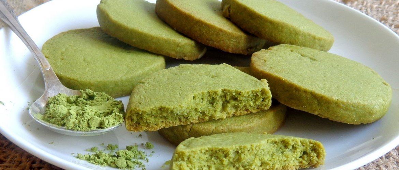 Ciasteczka z matchą - 抹茶クッキー